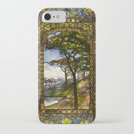 Louis Comfort Tiffany - Decorative stained glass 14. iPhone Case