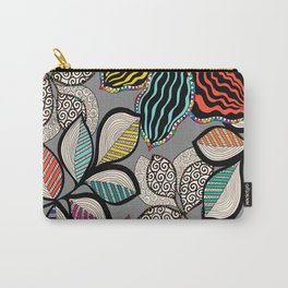 Floral pattern draw Carry-All Pouch