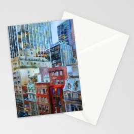 The view from the windows of the MoMA Stationery Cards
