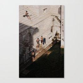 Jodhpur Boys Canvas Print