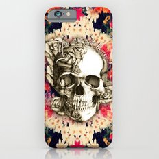 You are not here Day of the Dead Rose Skull. iPhone 6 Slim Case