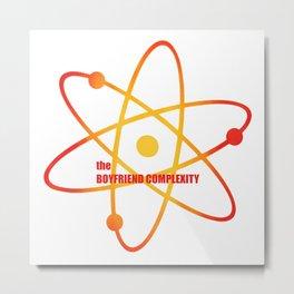 the Boyfriend Complexity - Season 4 Episode 9 - the BB Theory - Sitcom TV Show Metal Print