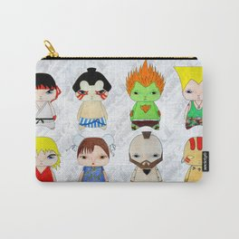 A Boy - Street fighter Carry-All Pouch