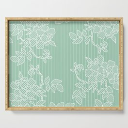 SPRING IN GREEN Serving Tray