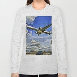Airliner Vincent Van Gogh Long Sleeve T-shirt