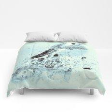 Robin in blue Comforters