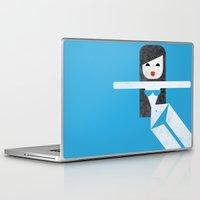 bikini Laptop & iPad Skins featuring Bikini (03) by Marco Recuero