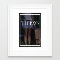 1975 Framed Art Prints featuring 1975  by John Parvin McBride
