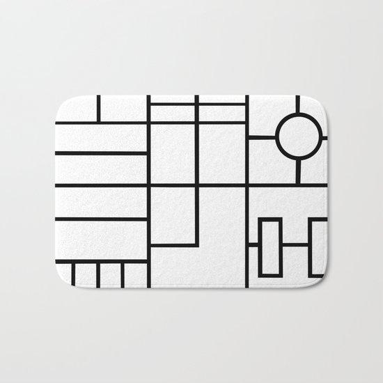 PS Grid Bath Mat