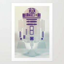 StarWars R2D2 Art Print