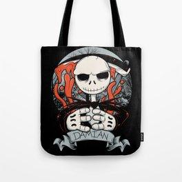 La Muerte jack Tote Bag