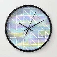 Cool Triangles Wall Clock