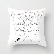 the Constellations Throw Pillow
