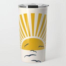 Minimalistic Summer I Travel Mug