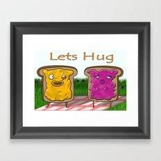 Hug Me Framed Art Print