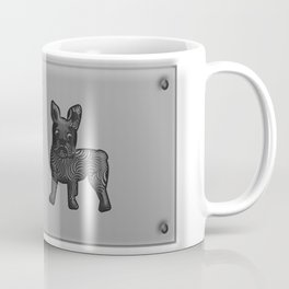 Black and White French Bulldog Twins Coffee Mug