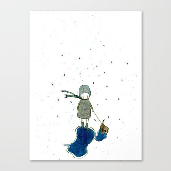 rainday Canvas Print