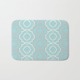 Abstract Lace Bath Mat