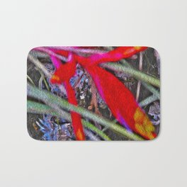 Bromeliad in the Cathedral Bath Mat