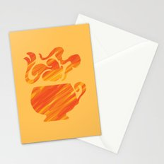 Mate Tea, Yellow on Yellow Stationery Cards