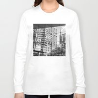 lincoln Long Sleeve T-shirts featuring Lincoln Center by Emily Werboff