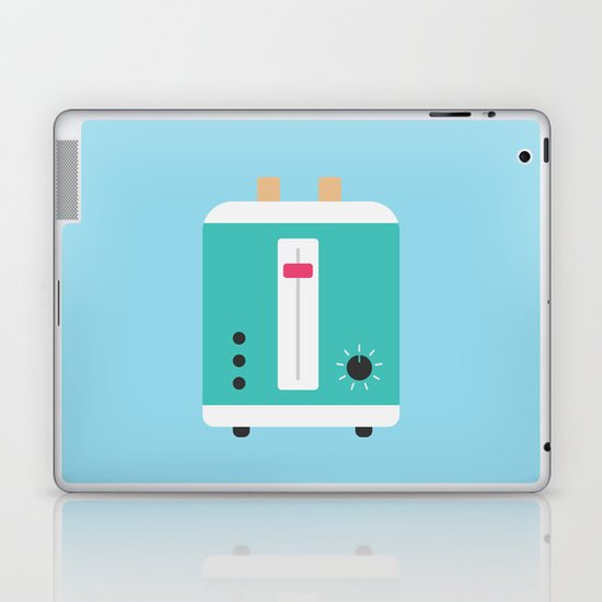 #82 Toaster Laptop & iPad Skin