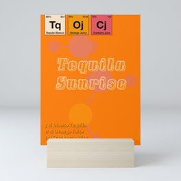 Tequila Sunrise Mini Art Print