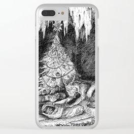 Krampus Clear iPhone Case