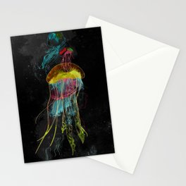 Electric Fins Stationery Cards