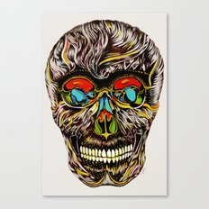 Colorful Skull Canvas Print