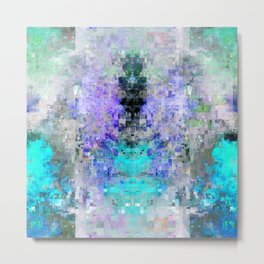 glitch cloud 10. Metal Print
