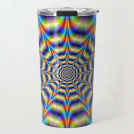 Psychedelic Wheel Travel Mug