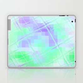 Re-Created Twisted SQ XXIV by Robert S. Lee Laptop & iPad Skin