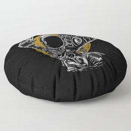Astronaut Boombox Floor Pillow