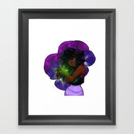 Shrinking Violet Framed Art Print