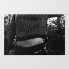Unbuttoned Canvas Print