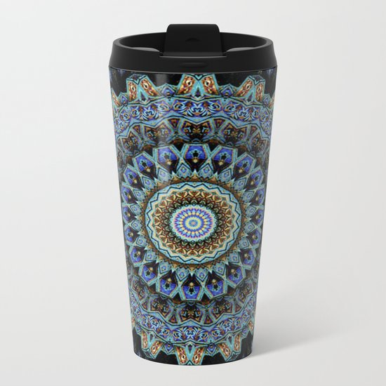 Spiral Eye Metal Travel Mug