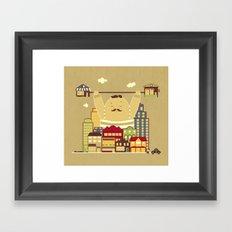 Shoplifter! Framed Art Print