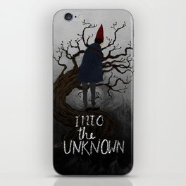 Into the Unknown iPhone Skin