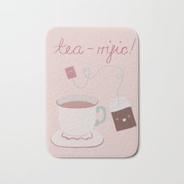 Tea-rrific Bath Mat