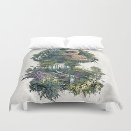 Between Life and Death Duvet Cover
