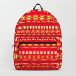 CHRISTMAS TREASURE- RED Backpack