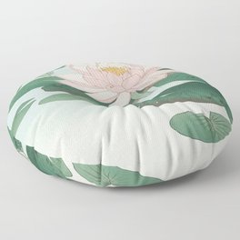 Ohara Koson - Water Lillies Floor Pillow