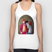 gumball Tank Tops featuring Marshall and Gumball by Kimball Gray