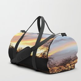 Fire in the sky. Duffle Bag