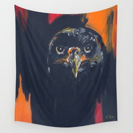 First Flight (Immature Bald Eagle) Wall Tapestry