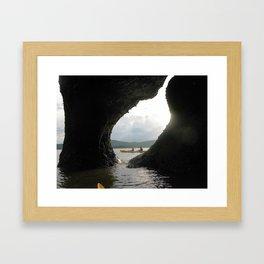 Hopewell Rocks Framed Art Print