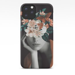 WOMAN WITH FLOWERS 7 iPhone Case