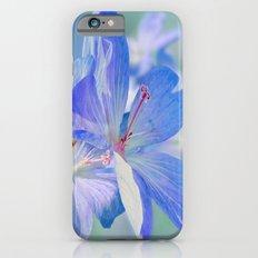 FLOWERS - Geranium endressii Slim Case iPhone 6s