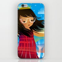 chelsea iPhone & iPod Skins featuring Chelsea by dan elijah g. fajardo